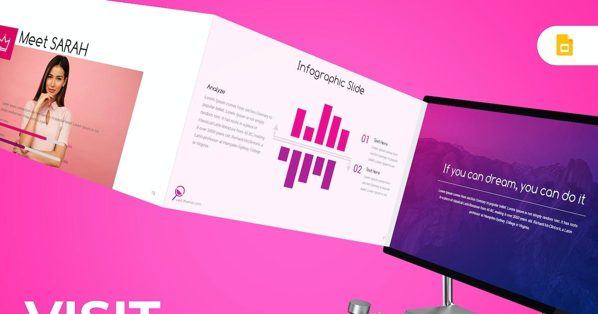 Download Visit - Google Slides Template by inspirasign