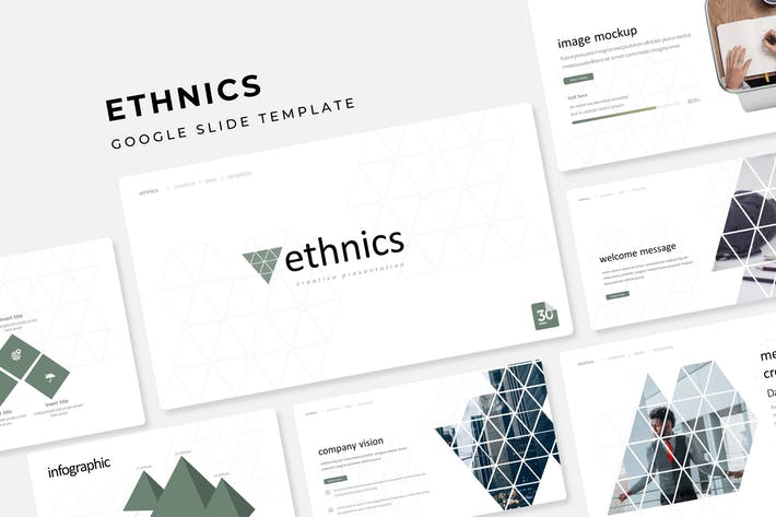 Ethnics - Google Slide Template