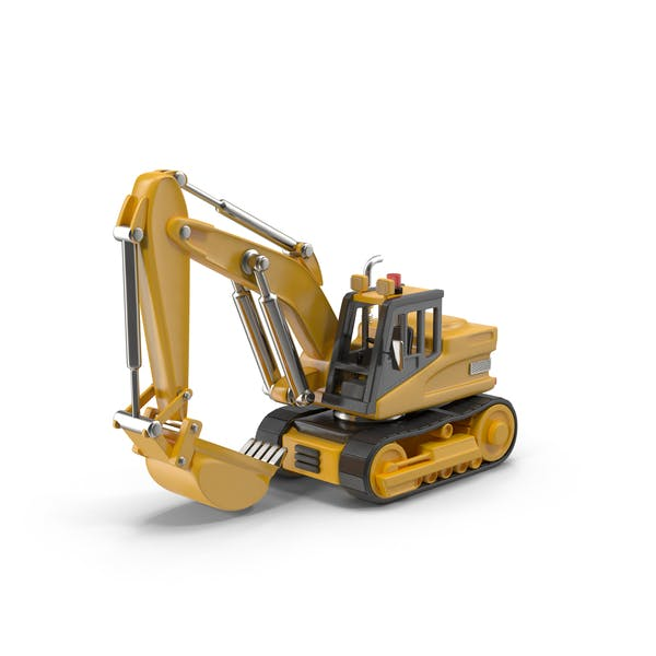 Thumbnail for Cartoon Excavator