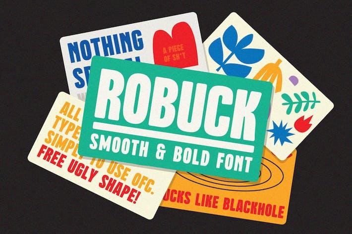 Robuck Display Font