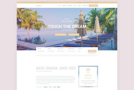 Hotel Himara - Hotel Booking Template
