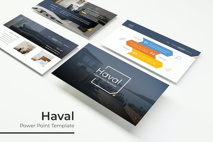 Thumbnail for Haval - Powerpoint Template