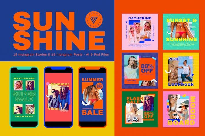 Thumbnail for Sunshine Social Media Pack
