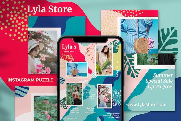 Thumbnail for Lyla Store Fashion Instagram Puzzle