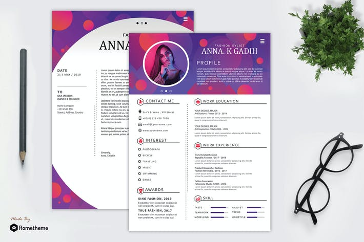Thumbnail for Resume - Anna K Gadih