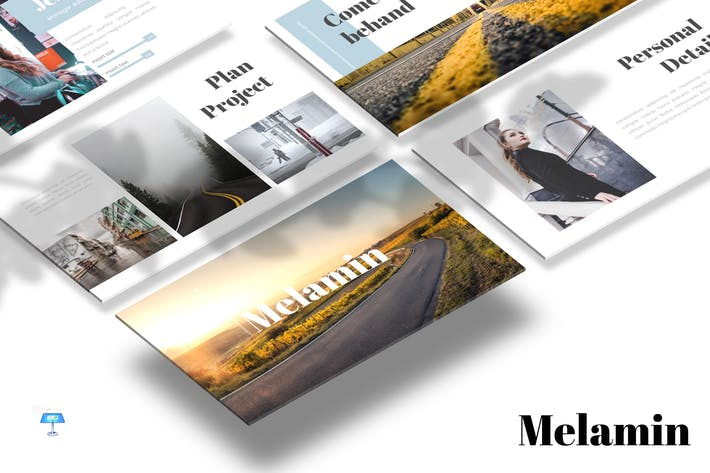 Thumbnail for Melamin - Keynote Vorlage
