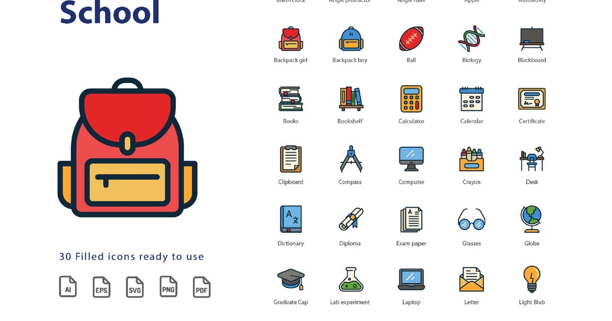 Download Back To School (Filled) by kerismaker