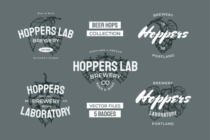 Thumbnail for Beer Hops Multiply Badges
