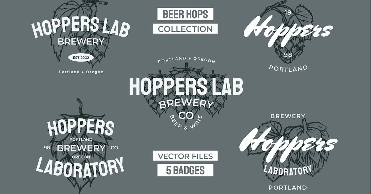 Download Beer Hops Multiply Badges by bayurakhmadio