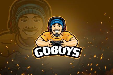 Avatar Games & Esport Logo V1 - Man Wearing Beanie