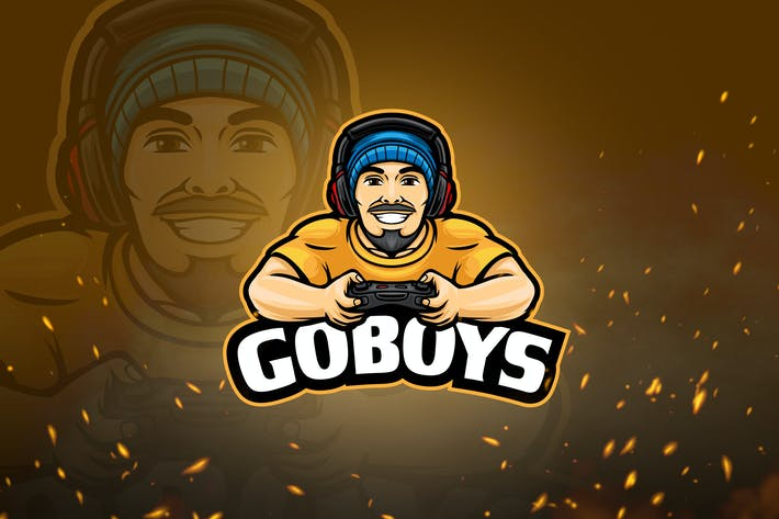 Thumbnail for Avatar Games & Esport Logo V1 - Man Wearing Beanie