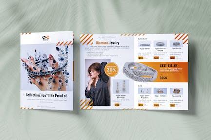 Jewelry Bifold Brochure