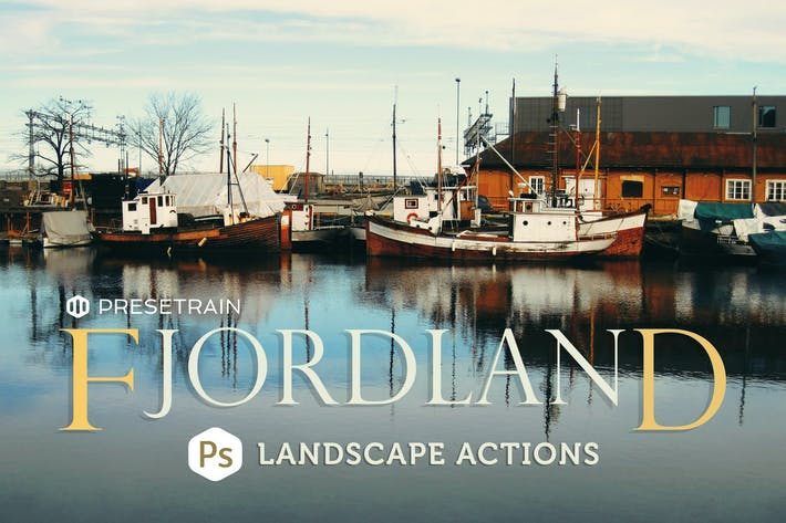 Thumbnail for Fjordland Landscape Photoshop Actions