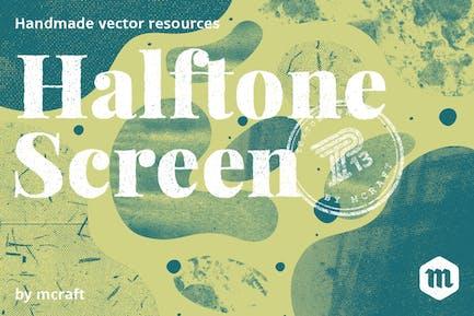 Halbton-Screen Textur-Pack-Hintergrund