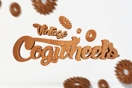 Vintage Cogwheels Bundle