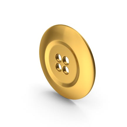 Ring Cloth Button Gold