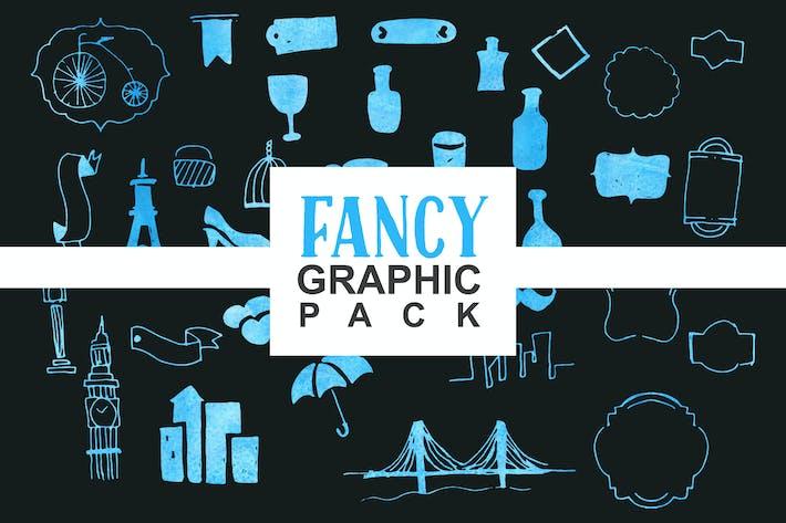 Thumbnail for Paquete de gráficos de fantasía