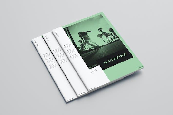 Thumbnail for Minimal White Simple Magazine
