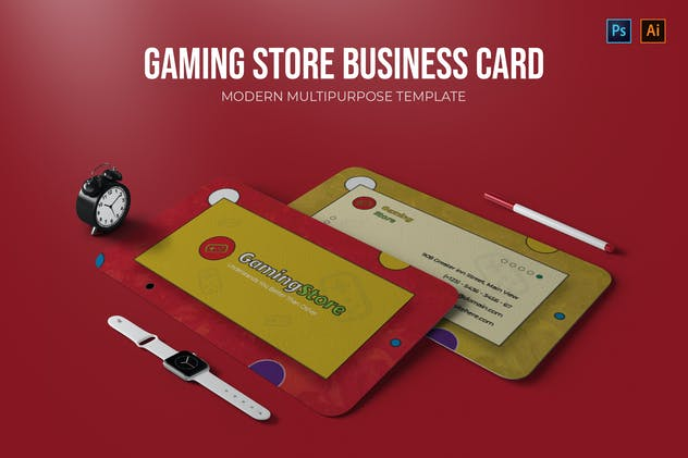Gaming Store - Business Card