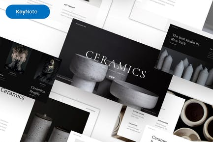 Ceramics – Simple Business Keynote Template