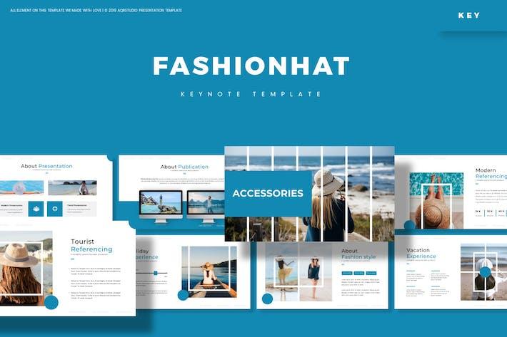 Thumbnail for FashionHat - Keynote Template