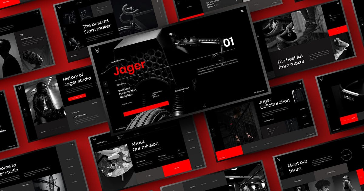 Download Jager – Business PowerPoint Template by DensCreativeStudio