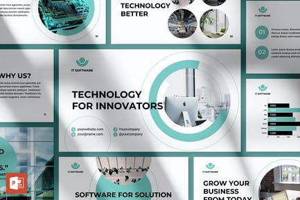 IT-Software PowerPoint Presentation Template