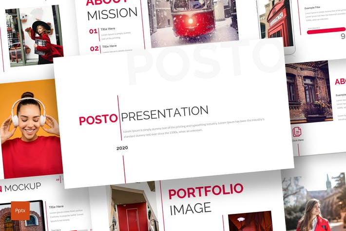 Thumbnail for Posto - Business Powerpoint Template
