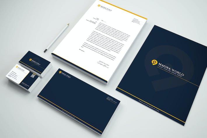 Thumbnail for Branding Identity & Stationery Pack