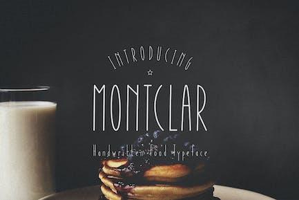 Montclar Handwritten Font