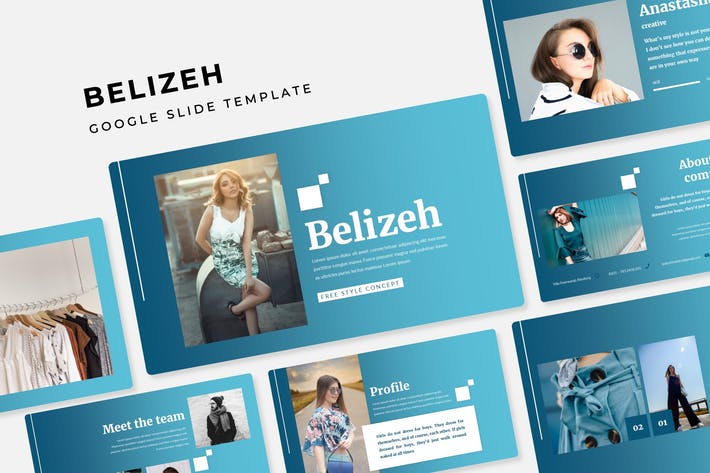 Belizeh - Google Slide Template