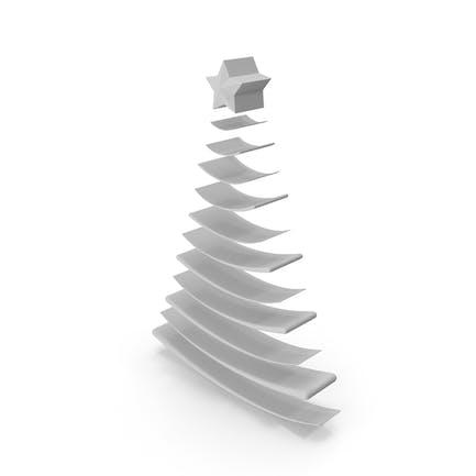 Árbol de Navidad Gris