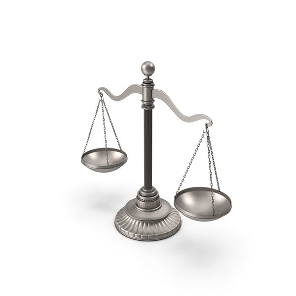 Silberbalance-Waage