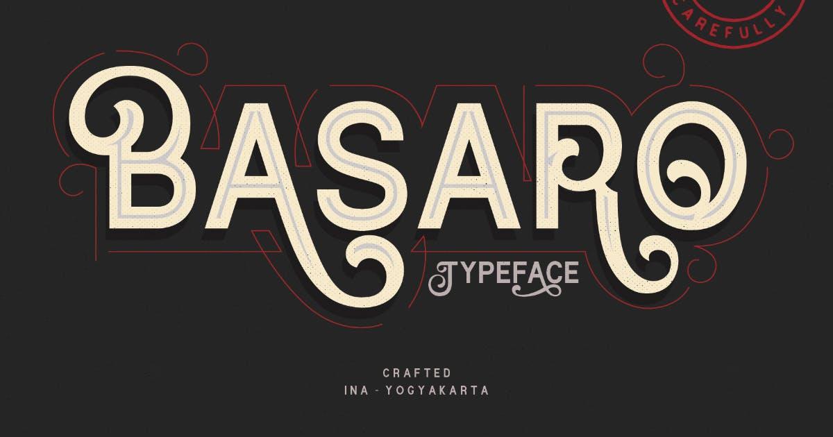 Download VT Basaro Swash Font by MartypeCo