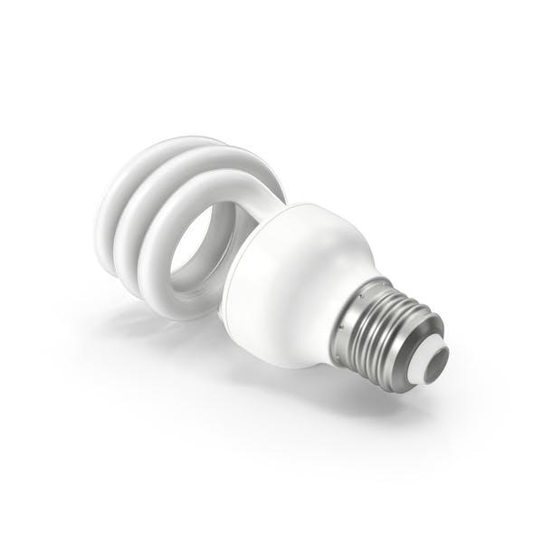 Fluorescent Bulb Spiral