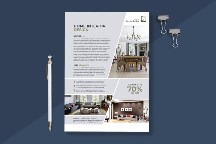 Thumbnail for Modern Interior Flyer