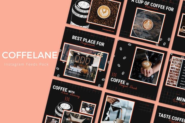 Thumbnail for Coffelane - Instagram Feeds Pack