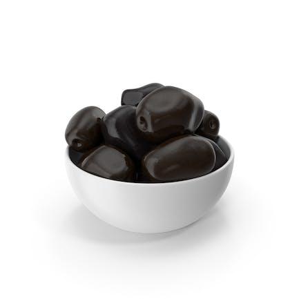 Bowl Of Olives Black