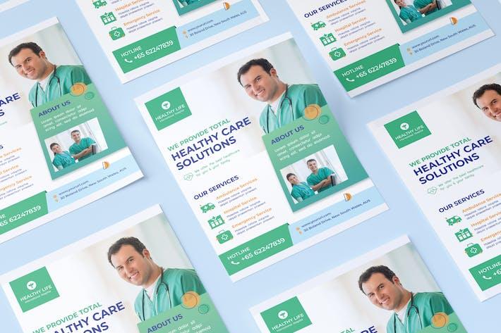 Thumbnail for Coronavirus medical flyer