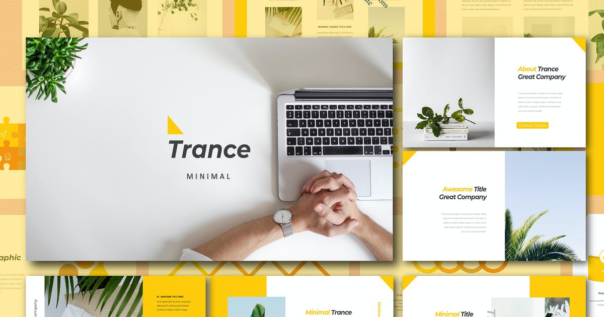 Download Trance Powerpoint by Siwox