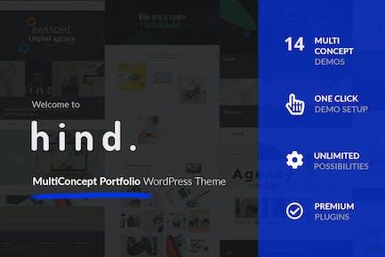 Hind - Multi-Concept Portfolio & Photography theme