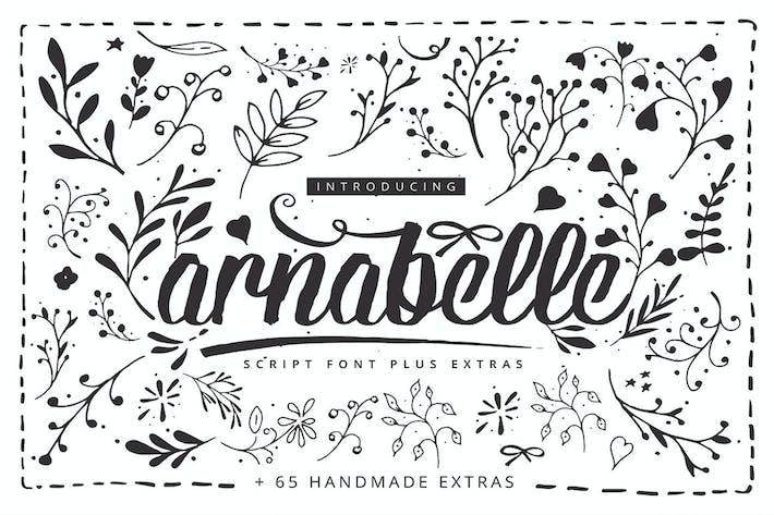 Thumbnail for Arnabelle Script Font