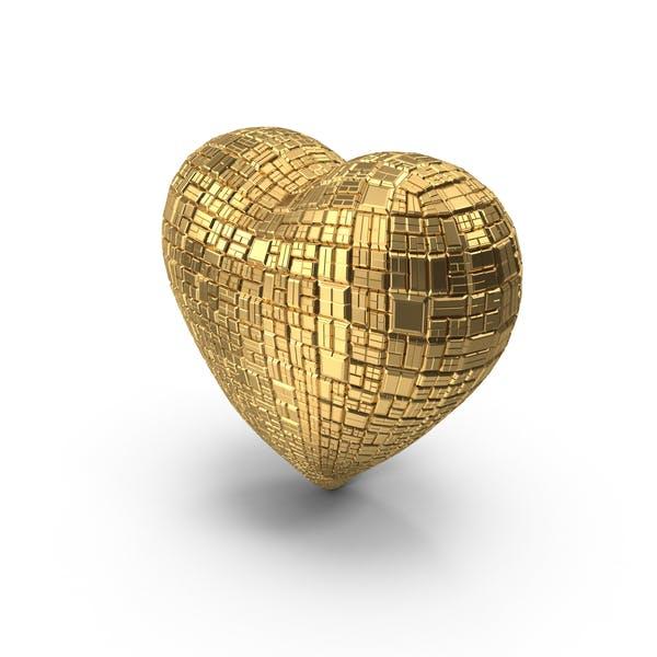 Thumbnail for Gold Ingot Heart