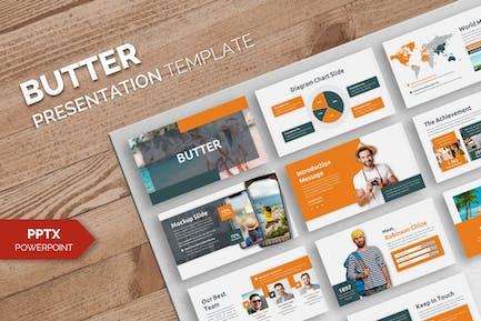 Butter - Business Powerpoint Template