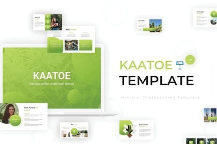 Kaatoe - Keynote Template