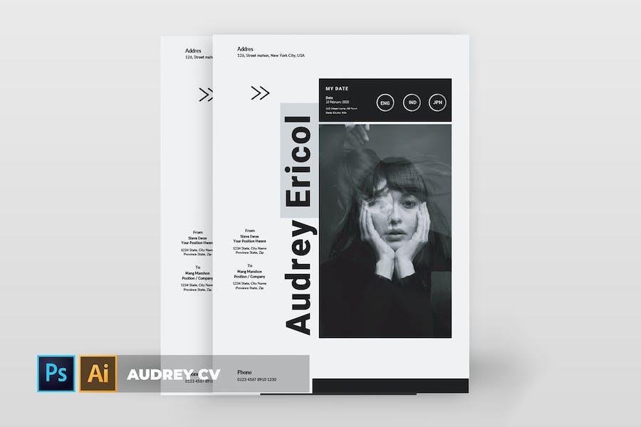 Audrey | CV & Resume
