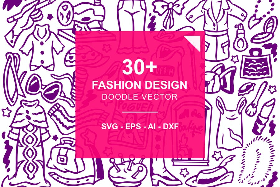 Fashion Designer Doodles