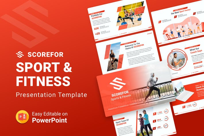 Scorefor – Sports and Fitness PPT Presentation