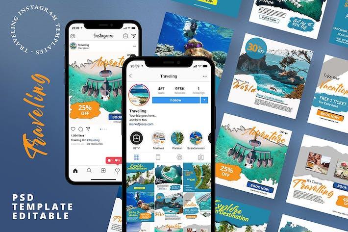 Thumbnail for 20 Travelling Instagram Pack Banner
