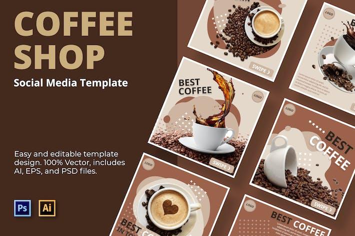 Luak Cofee Social-Media-Vorlage